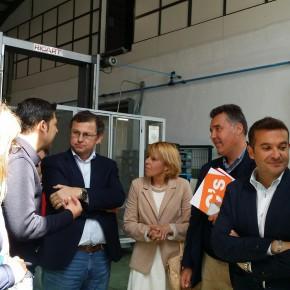 Marcial Gómez y David Dorado se reúnen con empresarios de Priego de Córdoba quienes les trasladan sus necesidades