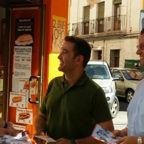 """Ciudadanos (C's) explica a pie de calle """"las medidas que propiciarán el cambio a mejor en España"""""""