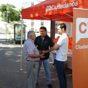 Ciudadanos(C's)promoverá eldeporte y el comercio de cercanía enel Distrito Sur