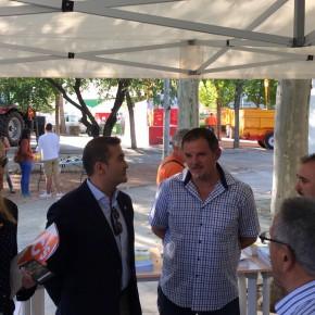 Ciudadanos (C's) apuesta por el sector agroalimentario en su visita a Agropriego