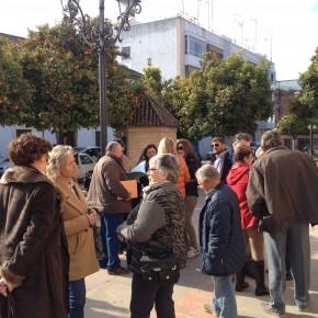 Ciudadanos recoge las protestas de agricultores de Villa del Río afectados por el deslinde de una vía pecuaria sin utilidad