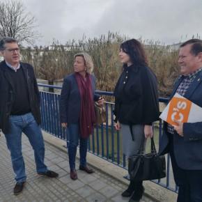 La parlamentaria andaluza de Cs exige a la Junta que explique cuánto dinero tienen previsto invertir en la finalización del plan del rio Lucena