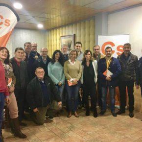 Ciudadanos reúne a nuevos afiliados y grupos locales de su agrupación comarcal Sierra para abordar actividades para el 2018
