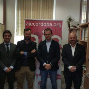 Ciudadanos se compromete con AJE en trabajar para mejorar el entorno de creación de empresas y su crecimiento en Córdoba